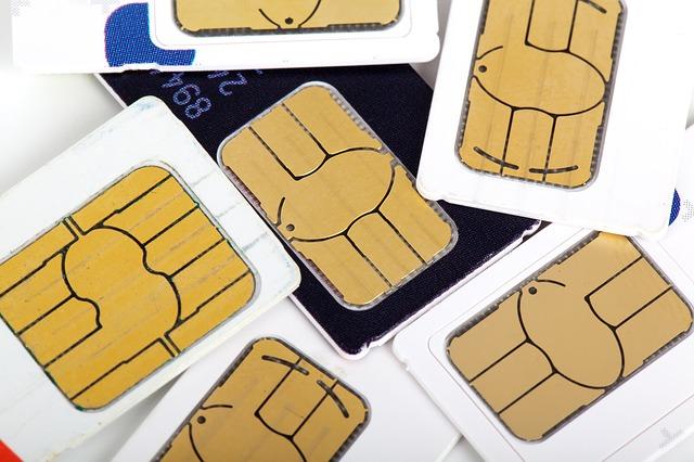 Sim-Karte für GSM Wähleinheit einer Alarmanlage