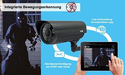 INSTAR IN-5907HD Bewegungserkennung Überwachungskamera Funktion