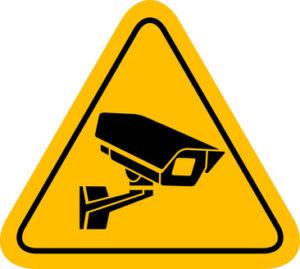 Überwachungskamera Videoüberwachung Schild