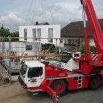 Haus Neubau Alarmanlage Überwachungskamera