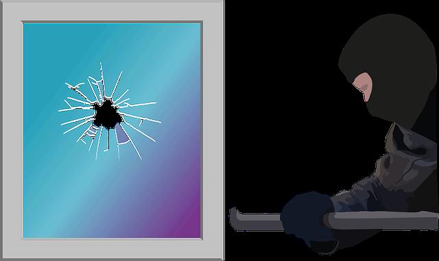 Fenstereinbruchschutz Dieb