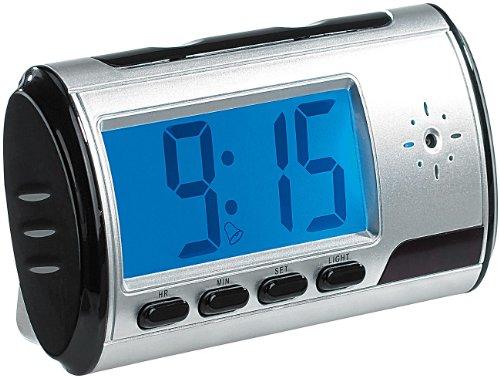 OctaCam Tischuhr mit SD-Videokamera, Audio-Recorder und Wecker - 1