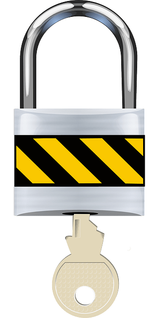 Schloss als Symbol für Einbruchsicherung
